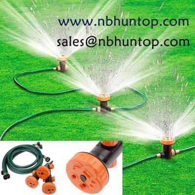 Portable 3 Head Lawn & Garden Sprinkler System set (Портативный 3 газонов руководителя и сада спринклерная система набора)