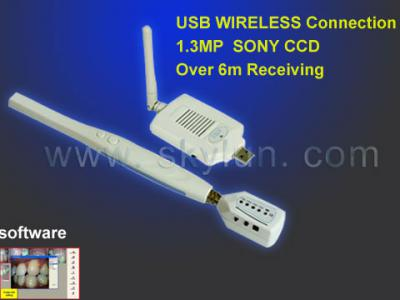 Wireless USB Dental IntraOral Camera Manufacturer (MD750+210) ()