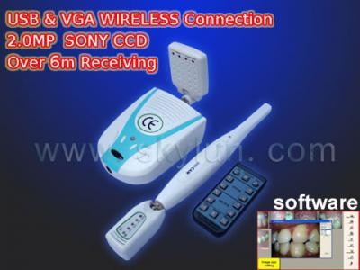 Wireless USB/VGA Dental IntraOral Camera  (MD750+360.W) ()