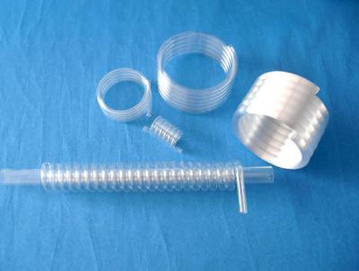 spiral quartz glass tube ()