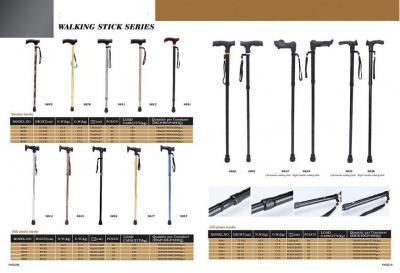 Aluminum telescopic wooden handle walking stick (Алюминиевая телескопическая ручка деревянная трость)