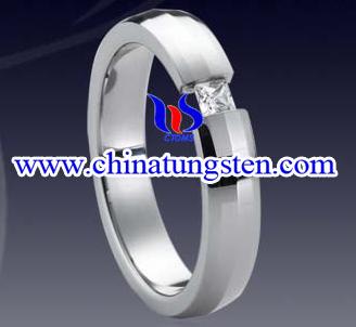 Tungsten Diamond Ring (Кольцо вольфрама Алмазный)