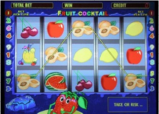Casino game board 1 in 1 (Fruit cocktail) ()