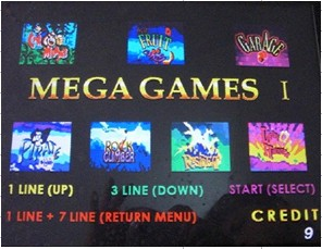 Casino game board MEGA 7 IN 1 ()