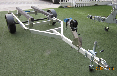 aluminum jet ski trailer (new) ()
