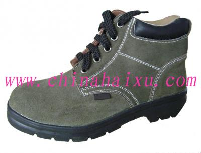 Genuine Leather Safety Working Shoes ()