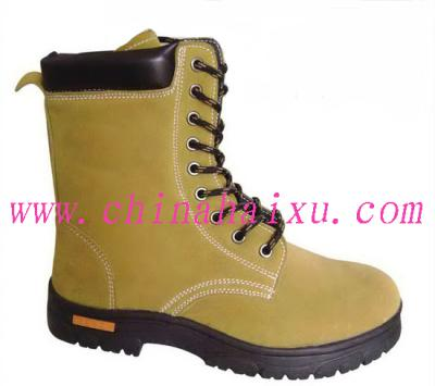 Genuine Leather Safety Working Boots ()