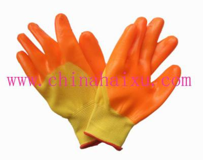 PVC coated electrical safety gloves ()