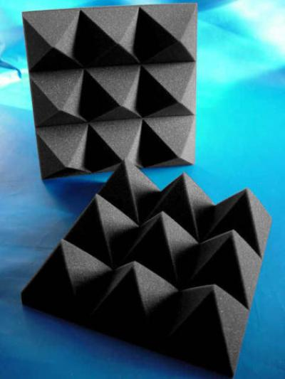 Colored Studio Sound-absorbing foam/karaoke acoustic foam/sound absorber melamin ()