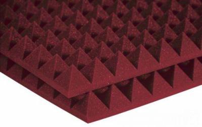 deep red pyramid foam/acoustic pyramid foam/triangle foam ()