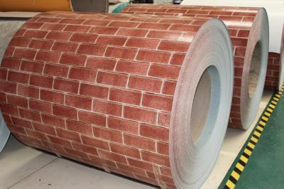 prepainted brick grain steel coil ppgi for sandwish panels (окрашенного кирпича зерна стали PPGI катушки для Sandwish панелей)