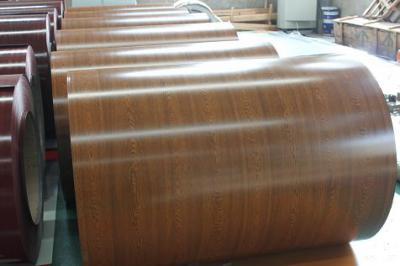prepainted wooden grain ppgi in coils (окрашенной древесины полимерным покрытием в рулонах PPGI)