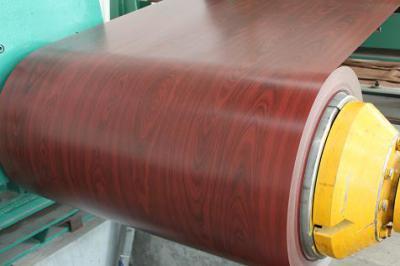 prepainted wooden grain ppgi steel coil (окрашенной древесины полимерным покрытием в рулонах PPGI)