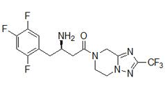 Sitagliptin free base ()
