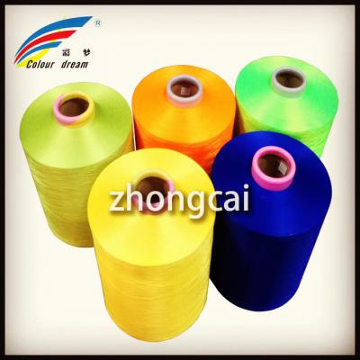 Polyester DTY Yarn Dope Dyed (полиэстер текстурированной пряжи)