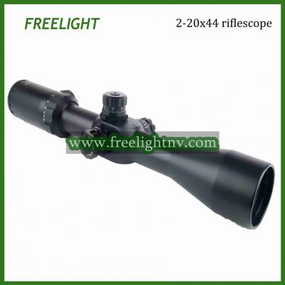 2-20x44 SFIR Long Range Side Focus Target Sniper Hunting Scope matte ()