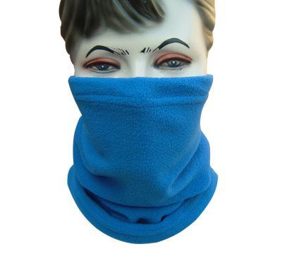 Polar Fleece Neck Warmer Snood Scarf Hat Unisex Thermal Ski Wear Snowboard BLUE (Флиса грелки шеи Snood шарф шляпа Мужская Тепловая Лыжная одежда Сноуборд синий)