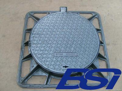 Ductile manhole cover and frames ()