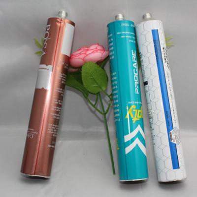 Collapsible aluminum hair dye tubes packaging (Что касается вашего трубку, она не имеет ничего общего со старой или новой машины.)
