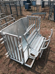 Hot Dipped Galvanised Mobile Sheep and Goat Catcher ()
