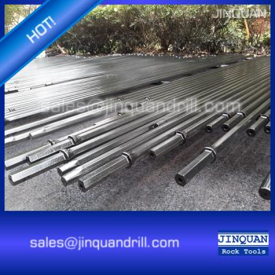 6400mm Length Taper drill rod with Shank Hex 22 x 108mm ()
