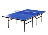 Indoor folding table tennis table ()