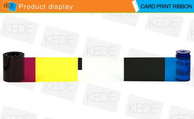 Compatible Card Printer Ribbon for Datacard 534000-002 YMCKT Color ()
