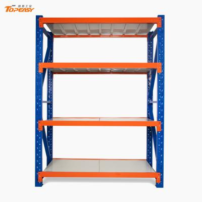 medium duty boltless rack steel plate storage shelf rack (стойка для хранения стальных пластин средней стойки)