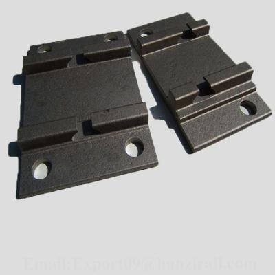 Railway Baseplate Rail Tie Plate for Supporting Rails ()