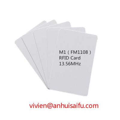 13.56MHZ M1 RFID(FM1108) Inkjet Proximity Card (13,56 МГц M1 RFID (FM1108) Струйная бесконтактная карта)