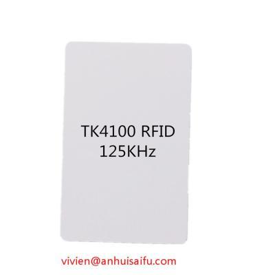 125KHZ TK4100 RFID ID Inkjet Card (Струйная карта RFID ID 125KHZ TK4100)