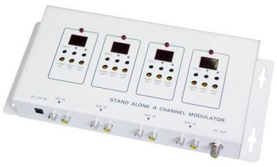 Stand Alone 4 channel modulator (Stand Alone 4-Kanal-Modulator)