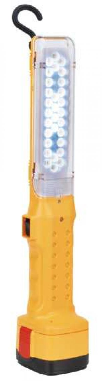 LED RECHARGEABLE CORDLESS WORK LAMP (LED Schnurlose Arbeitsleuchte)