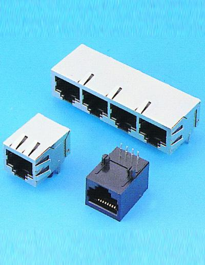 C0071-SIDE ENTRY CAT.5 PCB JACK (C0071-SIDE ЗАПИСЬ CAT.5 PCB JACK)