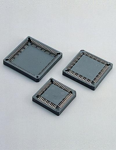 C0100-1.27mm PLCC SOCKET SMT TYPE -CONNECTOR (C0100-PLCC 1,27 мм Патрон SMT-разъем типа)