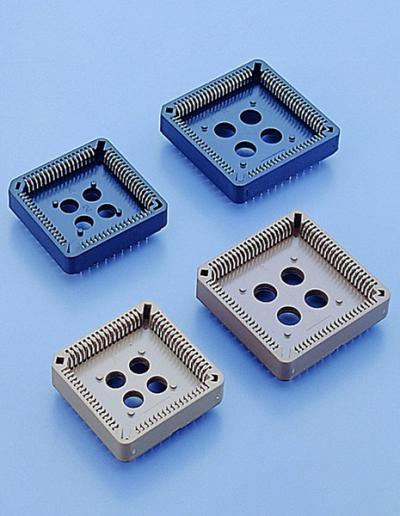 C0101-2.54mm PLCC SOCKET DIP TYPE (C0101 .54мм PLCC SOCKET DIP тип)