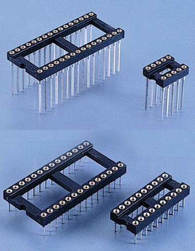 C0110-2.54mm IC SOCKET MACHINED PIN (C0110 .54мм панельки M hined PIN)