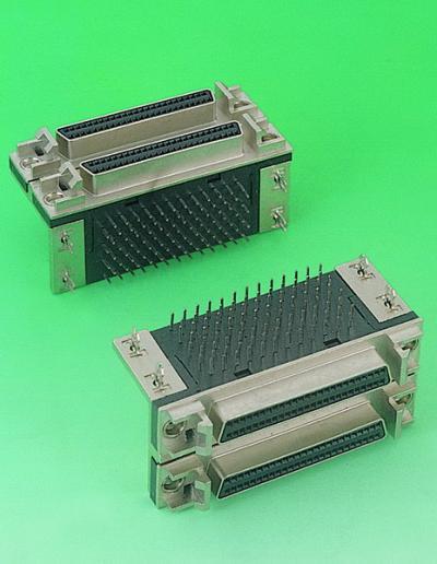 C0521-SCSI-Ⅱ D-SUB PCB 90  DUAP PORT (C0521-SCSI-Б)