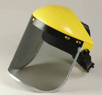 Wire Mesh Face Shield (Drahtgitter Face Shield)