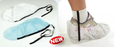 Disposable Shoe Cover with PP Strip,Electronic Components Manufacturing Equipmen