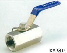 1-PC HEX. TYPE BALL VALVE, SCREWED ENDS (1-ПК HEX. Тип шаровой клапан, резьбовое ENDS)