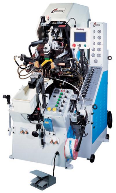 9-pincer computerized toe lasting machine(with hot melt) (9-клещи компьютеризированных ног прочного машина (с горячего расплава))