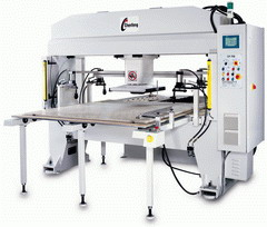 NC automatic hydraulic cutting press with automatic feeder (NC automatische hydraulische Stanzpresse mit automatischer Zuführung)