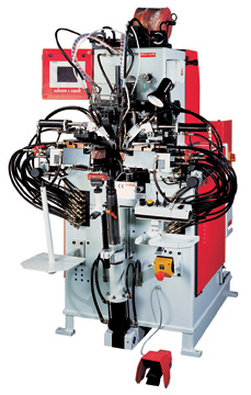 Numerical Control Tracer Cement Side & Heel Seat Lasting Machine