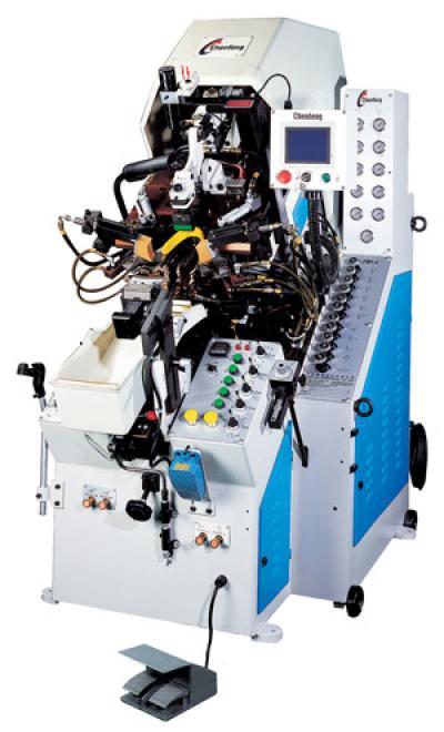 9-Pincer Computerized Toe Lasting Machine (9-Прямой Компьютеризированная Toe стабильного машины)