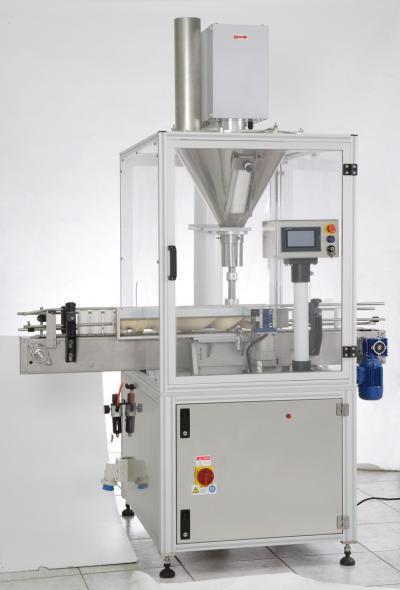 Automatic bottle filling machine (Автоматическая машина для фасовки бутылку)