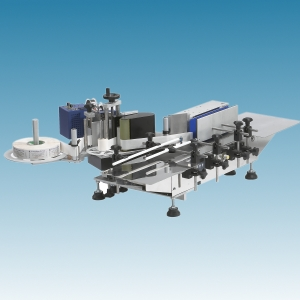 Tabletop Wrap-Around Labeler, labeling machine (Tabletop Wrap-Around Labeler, Etiqueteuse)