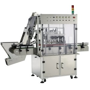 Automatic Capping Machine, capper (Automatique Bouchage Machine, une capsuleuse)