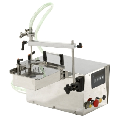 Semi-auto Filling Machine, filler (Semi-automatique de remplissage de machines, d`une charge)