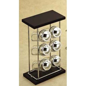 6 Bottle Spice Rack (6 Flasche Spice Rack)